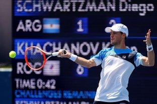 Schwartzman no pudo con Khachanov y se despide de los Juegos