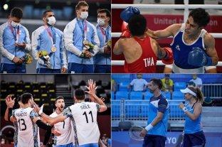 Juegos Olímpicos: lo que pasó en la jornada 5