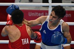 Boxeo: el santafesino Mirco Cuello perdió en octavos de final ante el tailandés Decha Tha Butdee