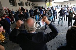 Video: polémico festejo sin protocolo sanitario por la asunción del ministro Kreplak en Buenos Aires