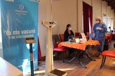 En Gualeguaychú se han aplicado más de 80.000 dosis de vacunas