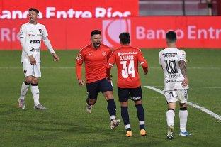 Independiente derrotó a Patronato en Avellaneda