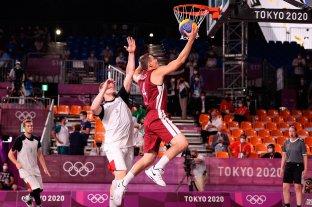 Estados Unidos y Letonia se quedaron con el oro en 3x3 de básquet