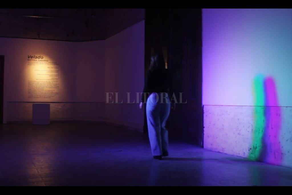 """""""Velado"""" es la primera de cuatro propuestas seleccionadas para el CEC. Crédito: Gentileza Municipalidad de Santa Fe"""