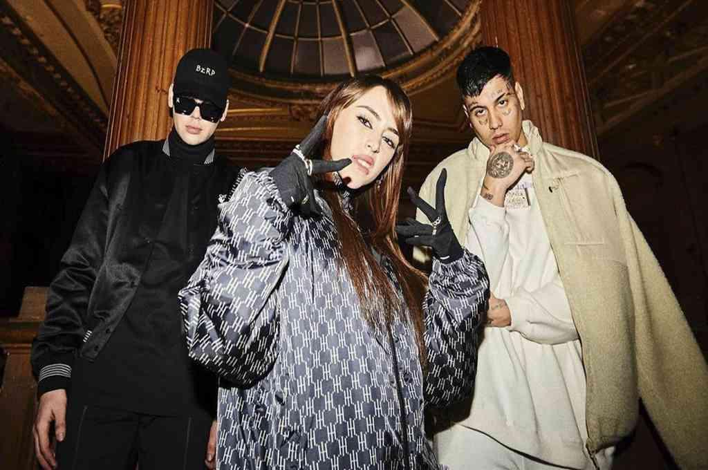 Grabada en Miami, el nuevo hit reúne la versatilidad de Biza con el estilo de Duki y la voz de Nicki. Crédito: Instagram