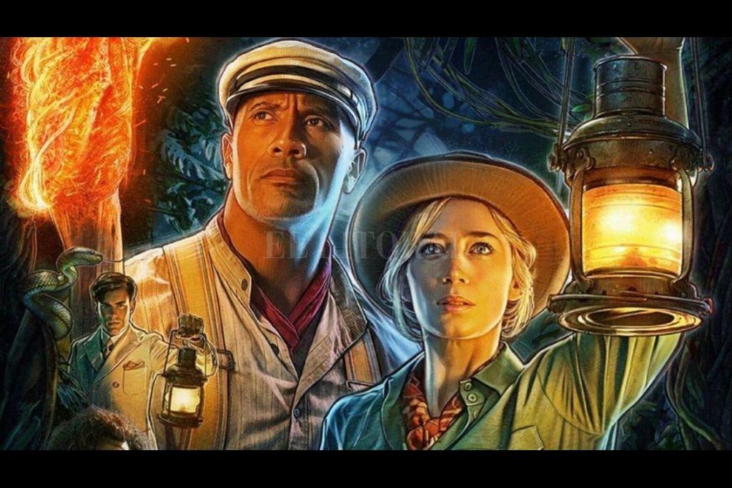 """""""Jungle Cruise"""" es una película basada en una atracción de Disneylandia en la que un pequeño barco recorre un río a través de la jungla atravesando multitud de peligros. Crédito: Disney"""