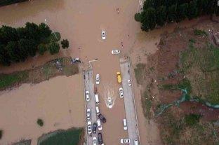 Alrededor de 100 muertos dejan las inundaciones en China