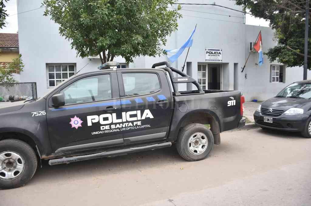Arnaldo Facundo Rodríguez (24) fue trasladado hasta la subcomisaría 2da. el mediodía del sábado. Crédito: Archivo El Litoral