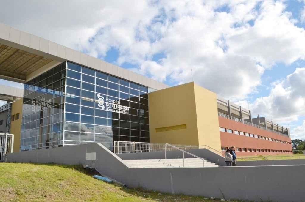 Hospital de la Baxada en Entre Ríos. Crédito: Gentileza