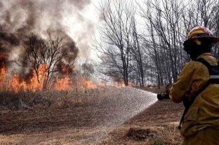 Continúa activo un foco de incendio en la provincia de Entre Ríos