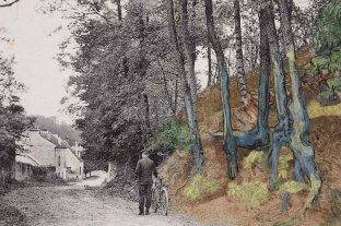 Encuentran una fotografía que muestra el camino en que el Van Gogh pintó su último cuadro