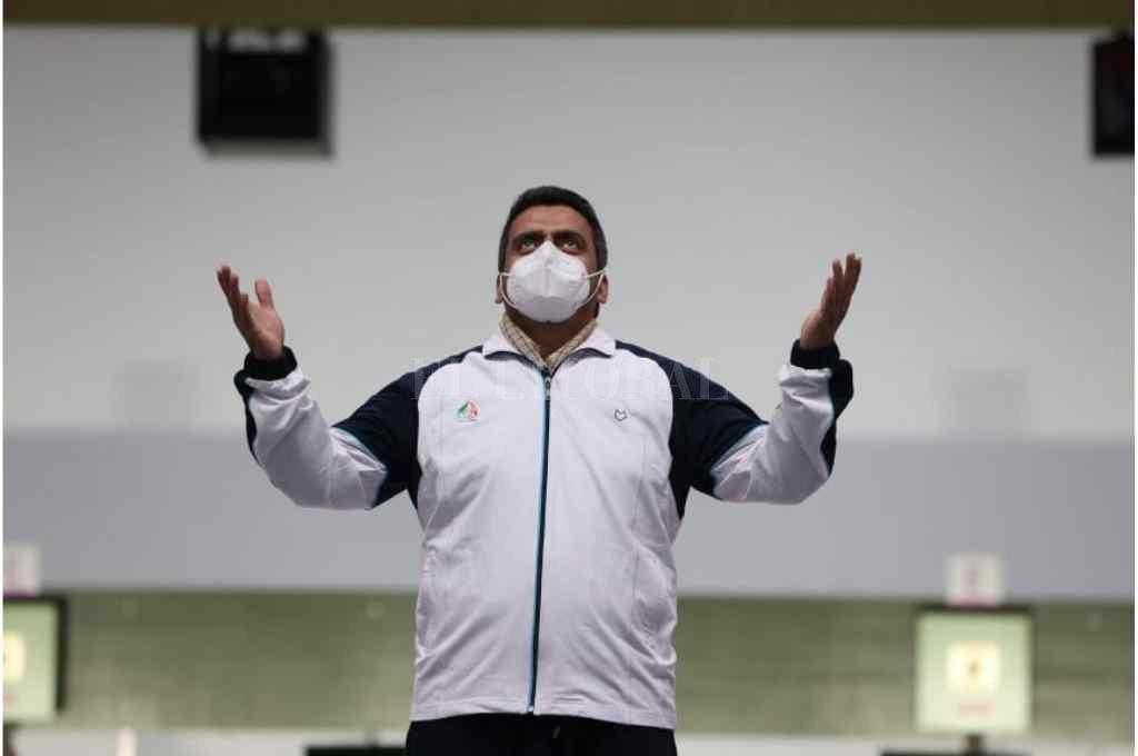 Javad Forough, el enfermero iraní que logró la medalla dorada en tiro en los Juegos Olímpicos de Tokio 2020 Crédito: Gentileza