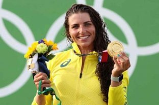 Una piragüista utilizó un condón para reparar su kayak y logró una medalla de bronce