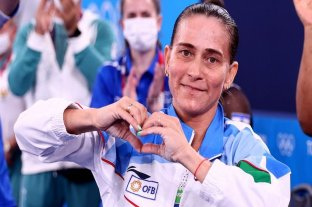 Oksana Chusovítina, 46 años y olímpica desde Barcelona '92