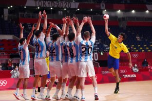 Los Gladiadores reaccionaron pero no les alcanzó para vencer a Brasil