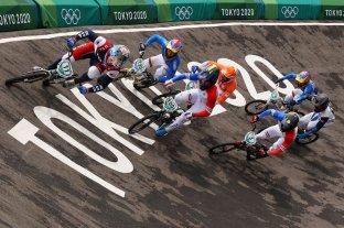 Exequiel Torres no pudo alcanzar la final de BMX