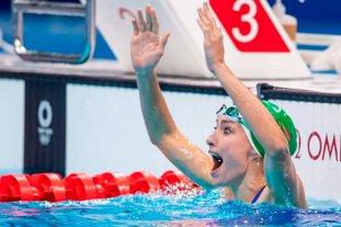 Schoenmaker ganó el oro y registró un nuevo récord mundial en 200 metros pecho