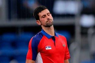 Tenis olímpico: Djokovic cayó en semifinales ante el alemán Zverev
