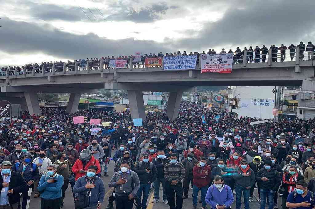 El #ParoNacional29J estuvo liderado por la organización social, campesina, indígena en la