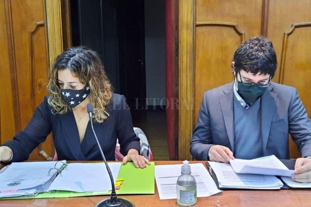 La audiencia en la que se dispuso la prisión preventiva para la pareja se realizó este jueves por la tarde, en los tribunales locales. Crédito: El Litoral/archivo