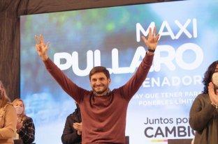 """Maxi Pullaro: """"En esta coalición política sustentamos la esperanza de los argentinos que quieren libertad""""."""
