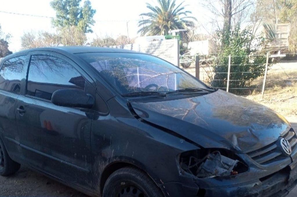 El dueño del vehículo informó en sede policial que la noche del siniestro, él le había prestado el auto a su cuñado que quedó preso. Crédito: Gentileza www.rufinoweb.com.ar