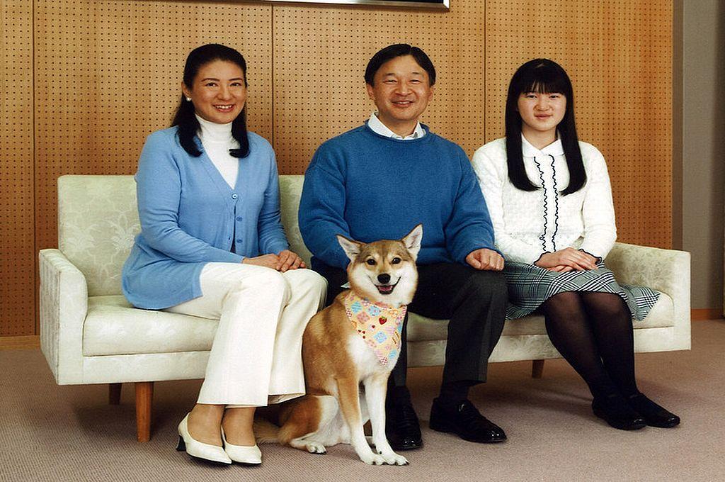 Los emperadores de Japón y su hija Aiko. Crédito: Gtres