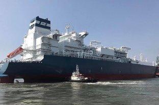 Un buque quedó varado y trabó la navegación en el Río de la Plata