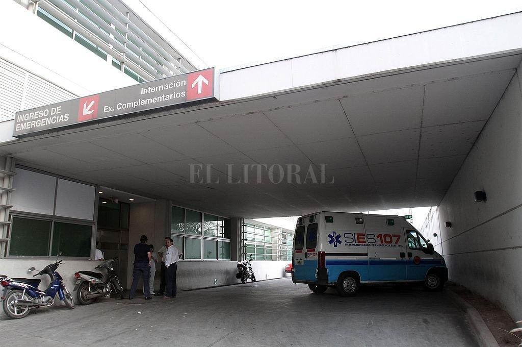 La mujer está internada en el Hospital de Emergencias Clemente Álvarez. Crédito: Archivo El Litoral