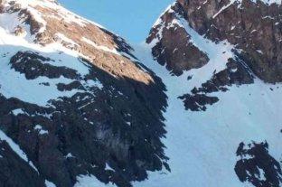 Tres andinistas perdidos fueron contactados tras dos noches con temperaturas bajo cero