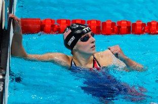 La estadounidense Katie Ledecky obtuvo su segunda medalla de oro