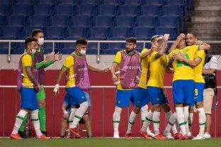 Brasil venció a Egipto y avanzó a las semifinales en el fútbol olímpico