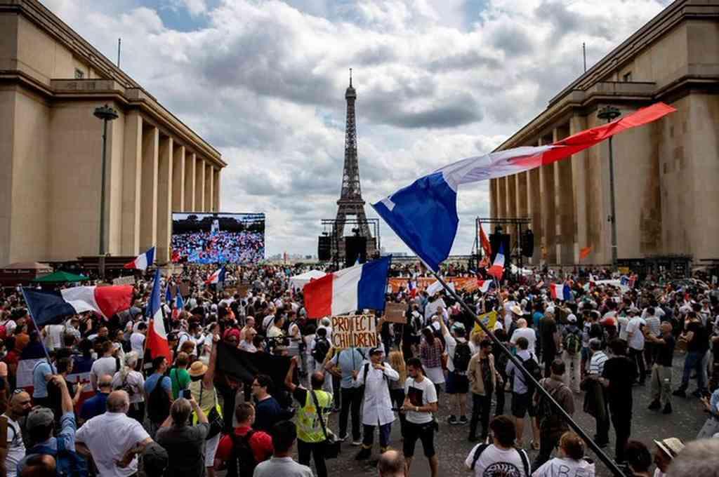 Días pasados, miles de personas salieron a protestar a nivel nacional. Crédito: Imagen ilustrativa