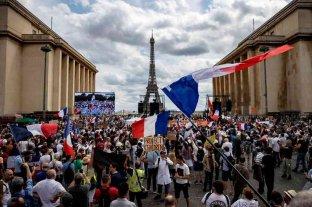 Nuevas manifestaciones en Francia en rechazo al pasaporte sanitario y la vacunación anti-Covid obligatoria