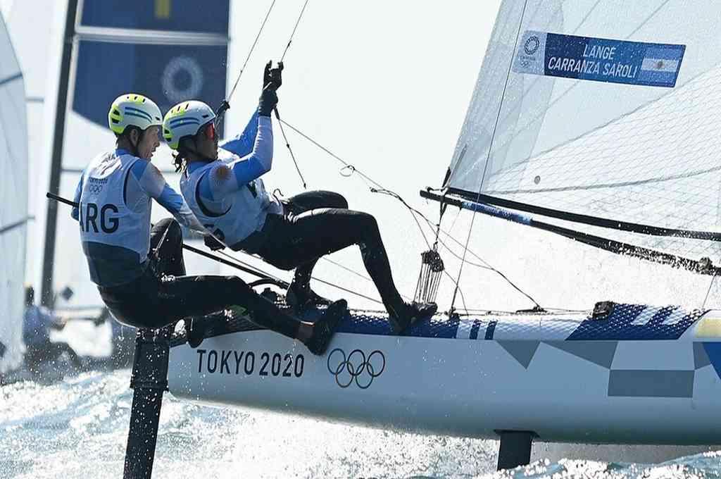 Santiago Lange y Cecilia Carranza ganaron la medalla de oro en Río 2016. Crédito: Imagen ilustrativa