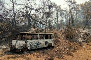 Erdogan sospecha que los bosques del sur de Turquía fueron incendiados intencionalmente