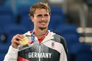 Zverev se quedó con el oro en el tenis masculino