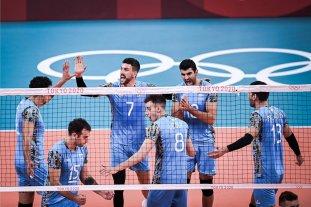 Vóley: Argentina le ganó a Estados Unidos y jugará los cuartos de final