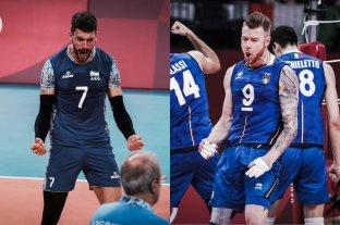 Italia será el rival de la selección argentina de vóley en los cuartos de final: día, hora y TV