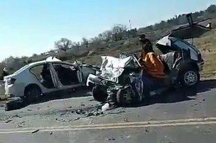 Tres fallecidos en un accidente en la Ruta Nacional A-012 -