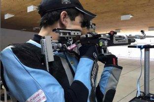 Alexis Eberhardt terminó en el puesto 34 en la prueba de tiro 50m carabina y finalizó su participación