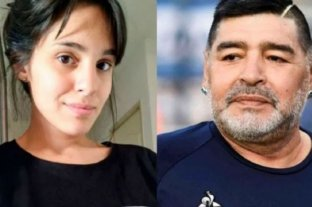 Dio negativo en la prueba de ADN, Magalí Gil no es hija de Diego Maradona