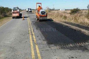 Finalizaron las obras de bacheo en las rutas provinciales Nº 62 y Nº 4