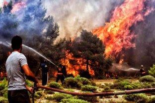 La ola de calor en el hemisferio norte causa incendios en Grecia, Turquía, Italia, España y Bulgaria