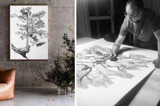 Un cañaseño que une el arte y la naturaleza a través de lapiceras Bic
