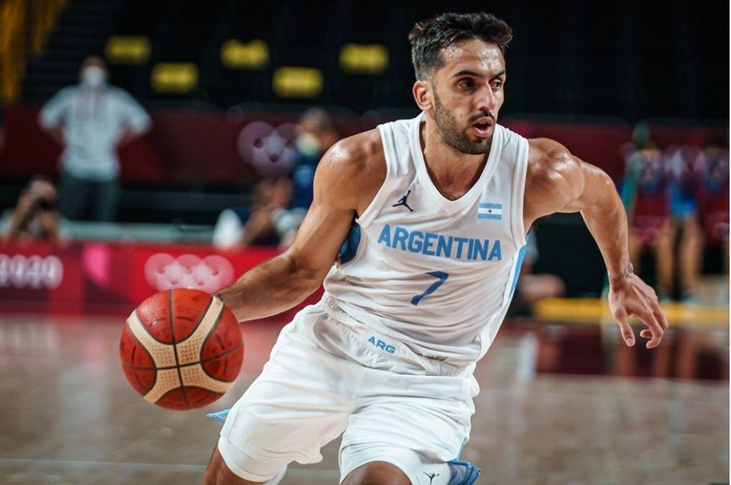 Argentina enfrentará a Australia en busca de la semifinal en básquet - Facundo Campazzo demostró ante Japón un nivel de juego más cercano a su pico. -