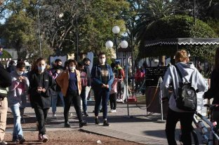 Plaza Feria volvió a revitalizar el centro en Rafaela