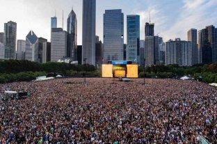 El Lollapalooza reunió 400.000 personas en Estados Unidos