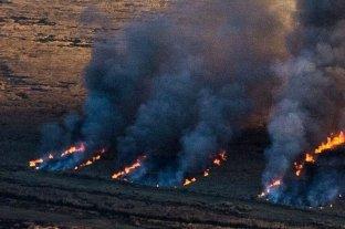 Hay 2 focos de incendio activos en Entre Ríos