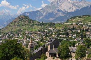 Encuentro valesano en el 70° aniversario de Suiza